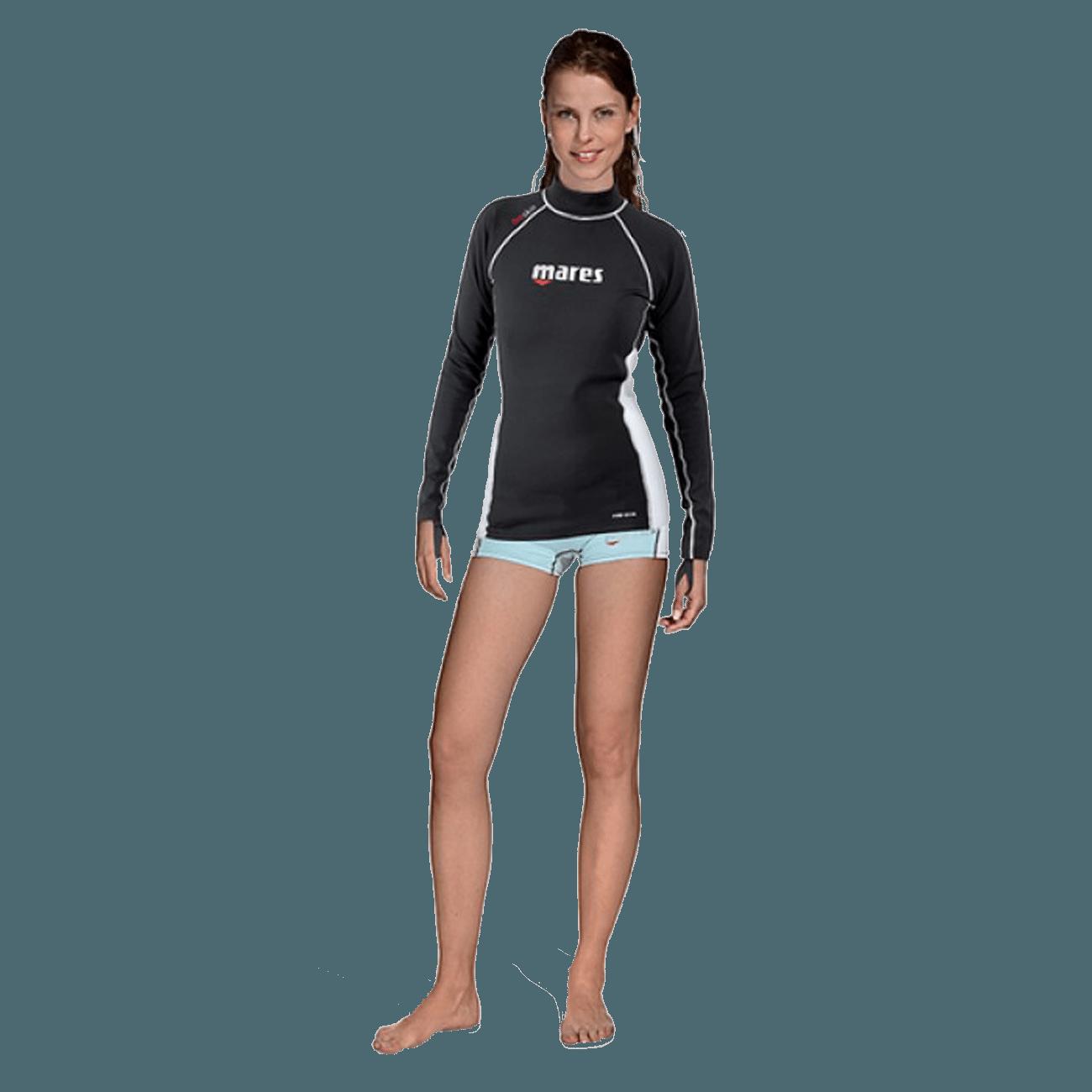 Mares Fire Skin Long Sleeve She Dives | Mares Rashguards | Mares Singapore