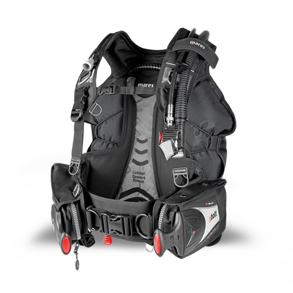 Full and versatile range of buoyancy compensator