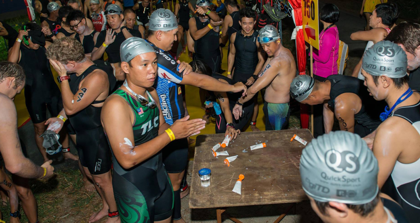 Safe Sea at Penang International Triathlon & Duathlon 2016