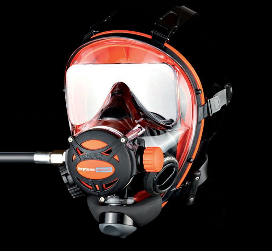 Ocean Reef Neptune Space Full Face Mask 50-60 PSI