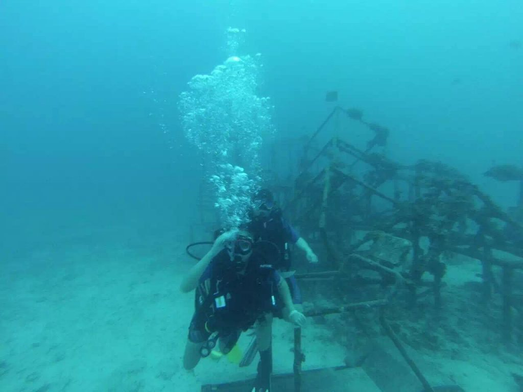 Scuba diving is adventurous