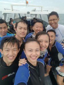 Scuba Diving At Open Sea