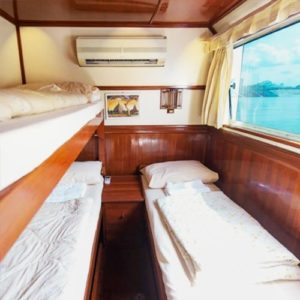 MV nautica -superior-seaview-cabin