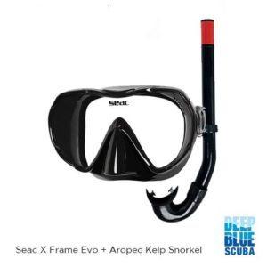 Deep Blue Scuba - Seac Mask & Snorkel
