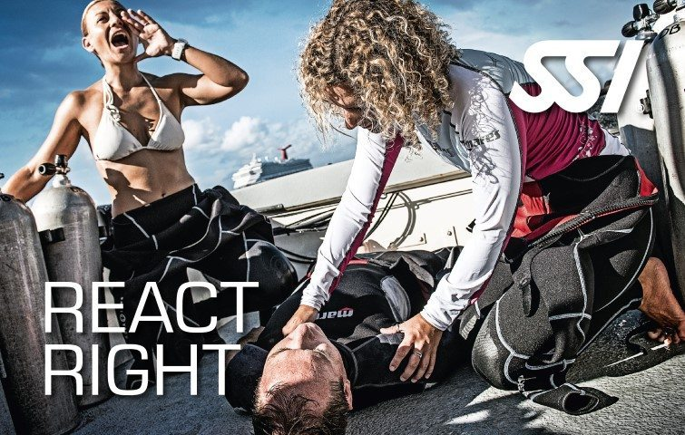 SSI React Right | SSI React Right Course | React Right | Specialty Course | Diving Course | Eko Divers