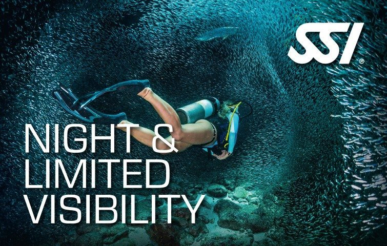 SSI Night Limited Visibility | SSI Night Limited Visibility Course | Night Limited Visibility | Specialty Course | Diving Course | Eko Divers