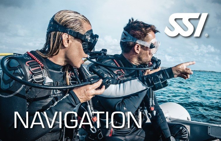 SSI Navigation Diving | SSI Navigation Course | Navigation | Specialty Course | Diving Course | Eko Divers