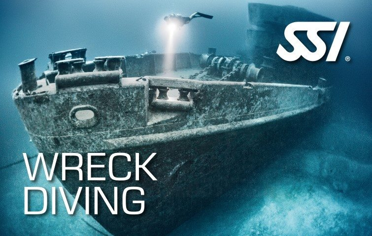 SSI Wreck Diving | SSI Wreck Diving Course | Wreck Diving | Specialty Course | Diving Course | Eko Divers