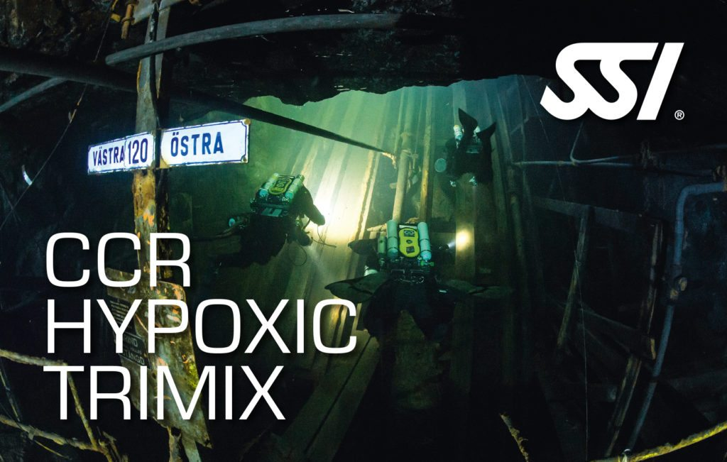 SSI CCR Hypoxic Trimix Course | SSI CCR Hypoxic Trimix | CCR Hypoxic Trimix | Diving Course | Eko Divers