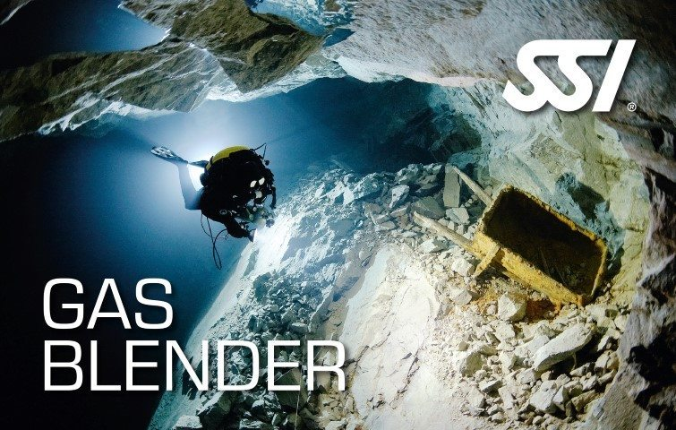 SSI Gas Blender Course | SSI Gas Blender | Gas Blender | Diving Course | Eko Divers