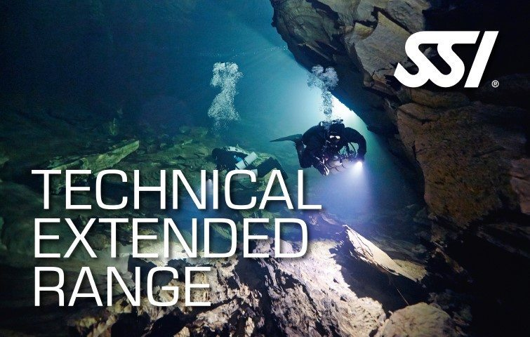 SSI Technical Extended Range Course | SSI Technical Extended Range | Technical Extended Range | Technical Diving Course | Eko Divers